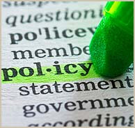 Policy highlighted